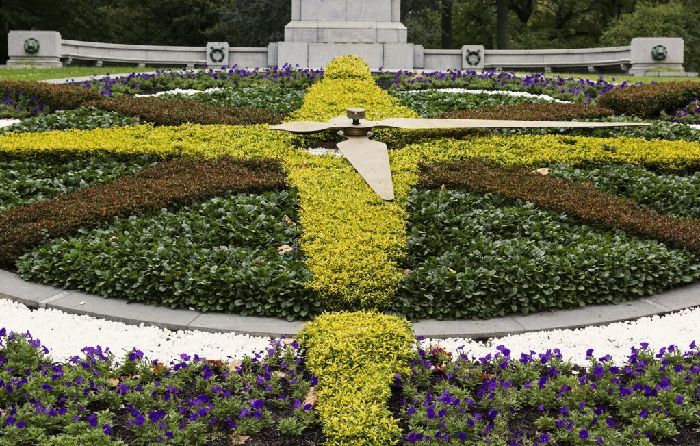 Flower clock in Melbourne